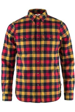 Fjällräven Shirt Skog yellow/red