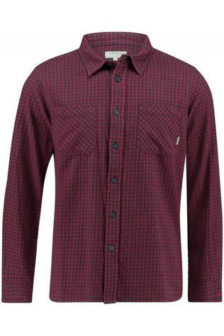 Ayacucho Shirt Flannel Red/Navy Blue