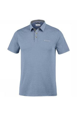Columbia Polo Nelson Point Gris Moyen