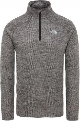 The North Face Fleece Ambition 1/4 Zip Donkergrijs