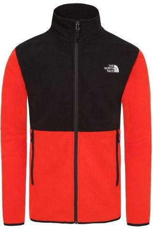 The North Face Fleece Tka Glacier Fz Rood/Zwart