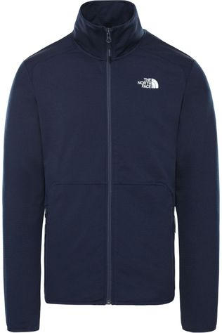 The North Face Fleece Quest Fz Marineblauw