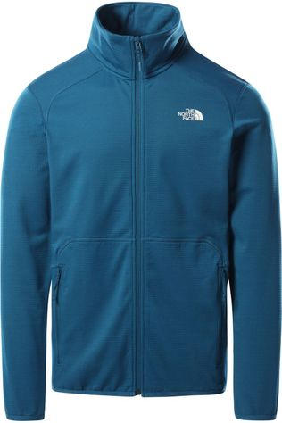 The North Face Polaire Quest Fz Bleu Pétrole