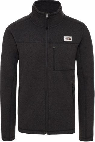 The North Face Fleece Gordon Lyons Fz Donkergrijs