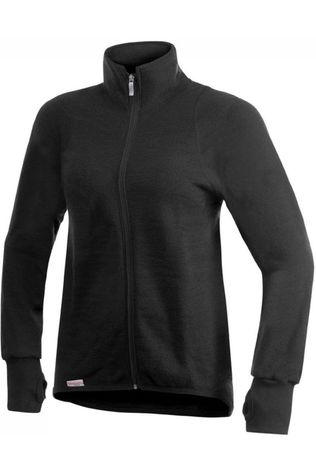 Woolpower Trui Full Zip Jacket 600 (warmest unisex midlayer) Zwart