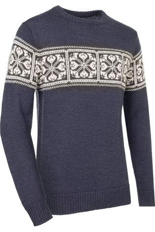 Ayacucho Pullover Knight Sweater Navy Blue