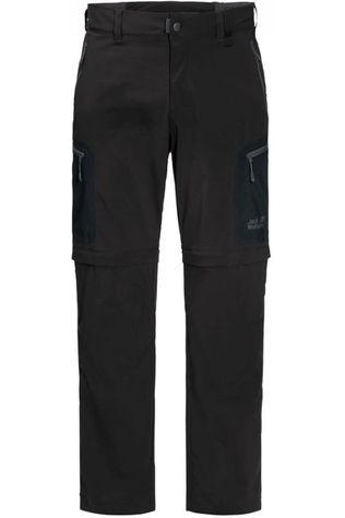 Jack Wolfskin Broek Activate Light Zip-Off Zwart