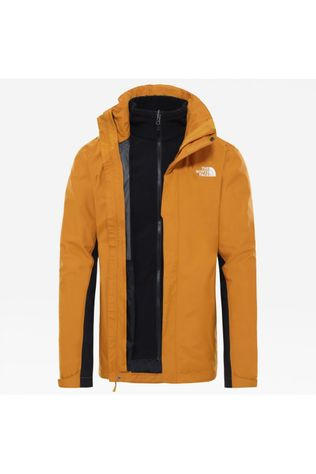 The North Face Manteau Evolution II Triclimate Jaune Foncé/Noir