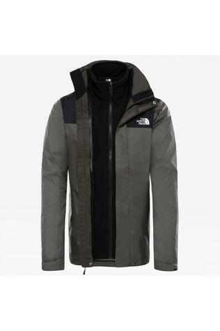 The North Face Jas Evolve II Triclimate Middenkaki/Zwart