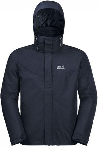 Jack Wolfskin Coat Arland 3In1 Navy Blue