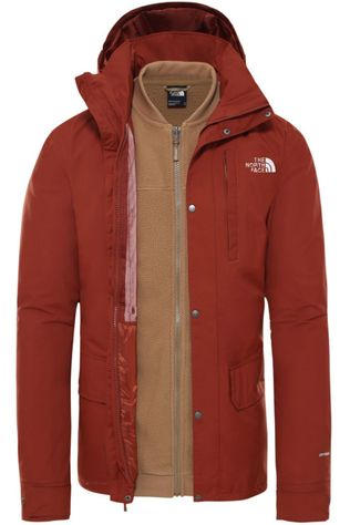 The North Face Coat Pinecroft Triclimate rust