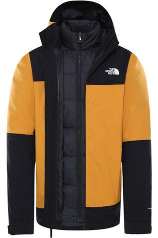 The North Face Manteau Mountain Light Futurelight Triclimate Jaune Foncé/Noir