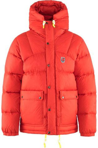 Fjällräven Donsjas Expedition Down Lite Rood