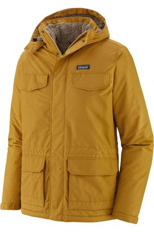 Patagonia Coat Isthmus Parka mid yellow
