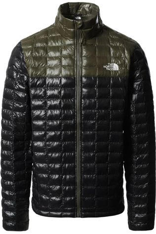 The North Face Jas Thermoball Eco Zwart/Donkerkaki