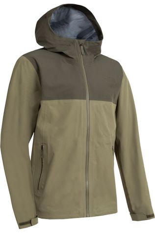 The North Face Coat Apex Flex Futurelight dark khaki/mid khaki