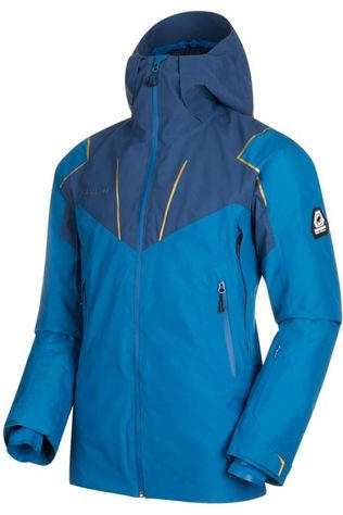 Mammut Coat Scalottas Hs Thermo Hooded mid blue/dark blue