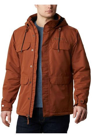 Columbia Manteau South Canyon Lined Rouille