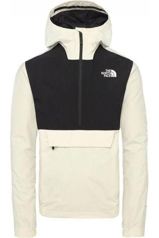 The North Face Manteau Waterproof Fanorak Blanc/Noir