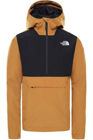 The North Face Manteau Waterproof Fanorak Jaune Foncé/Noir
