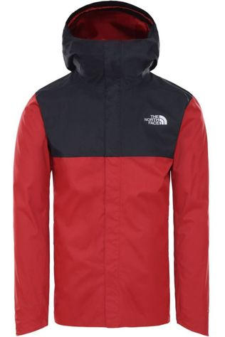 The North Face Jas Quest Zip-In Rood/Zwart