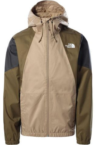 The North Face Jas Farside Donkerkaki/Zandbruin