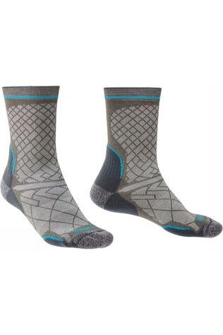 Bridgedale Sock Hike Coolmax Ultra Light T2 Boot light grey/blue