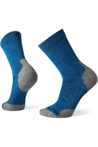 Smartwool Chaussette PhD Outdoor Light Crew Bleu Moyen