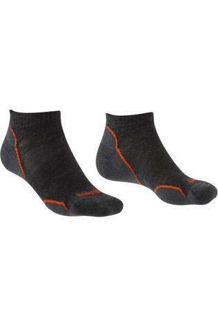 Bridgedale Sock Hike Merino Performance Ultra Light T2 Low dark grey/bronze