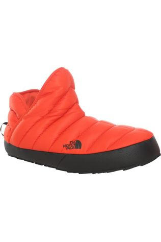 The North Face Pantoffel Thermoball Traction Bootie Oranje/Zwart