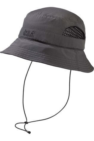 Jack Wolfskin Hat Supplex Vent Bucket dark grey