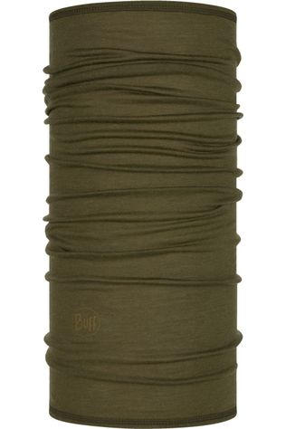 Buff Buff Lightweight Merino Wool Solid Bark Kaki Foncé