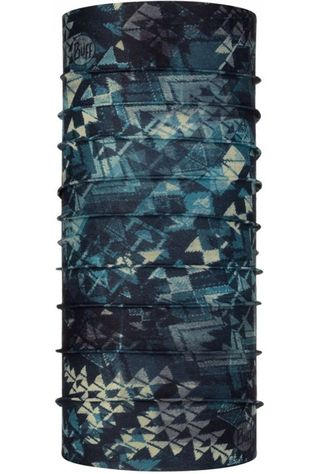 Buff Buff Coolnet UV+ Insect Shield Leartes Stone Blue Donkerblauw/Ass. Geometrisch