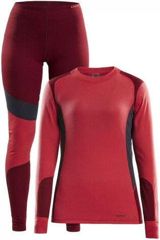 Craft Underwear Baselayer dark red/red
