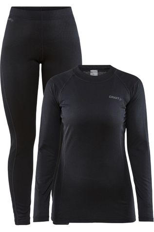 Craft Ondergoed Core Warm Baselayer Set W Zwart