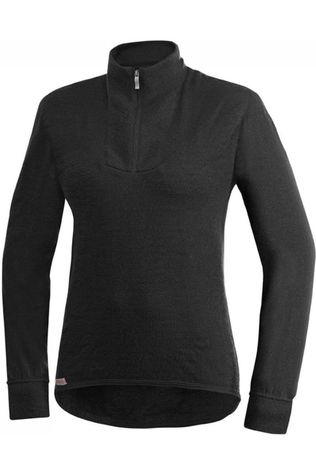 Woolpower Underwear Zip Turtleneck 200 (unisex baselayer) black