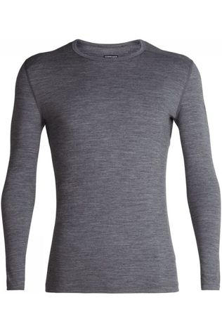 Icebreaker Underwear 200 Oasis LS Crewe Light Grey Marle