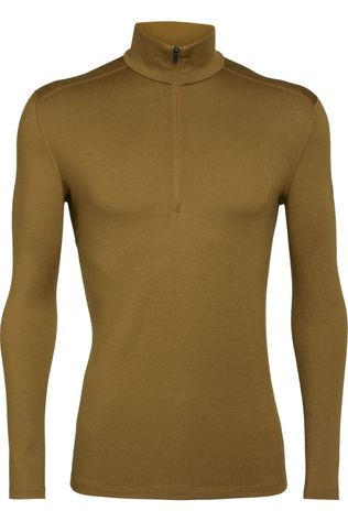 Icebreaker Underwear 260 Tech Ls Half Zip dark yellow
