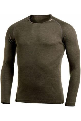 Woolpower Underwear Crewneck Lite (unisex baselayer) dark green