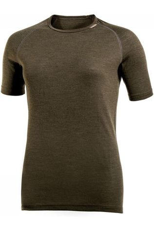 Woolpower Underwear Tee Lite (unisex baselayer) dark green