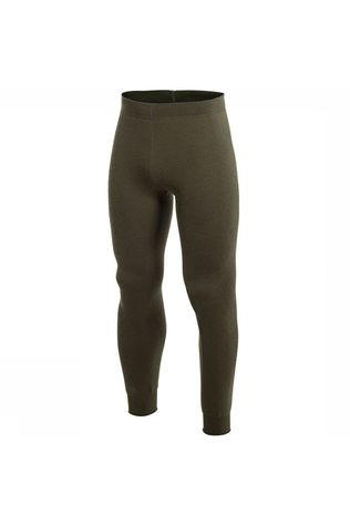 Woolpower Underwear Long John 400 (very warm unisex baselayer) dark green