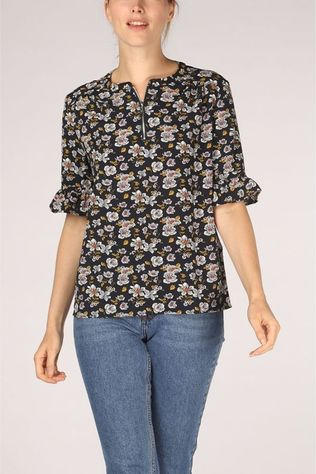 Kaporal Shirt Delys Marine/Assortment Flower