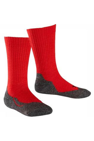 Falke Chaussette Active Kids Wool Rouge
