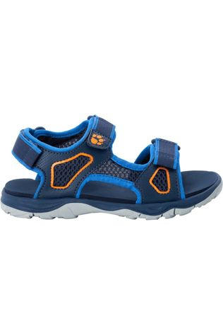 Jack Wolfskin Sandale Taraco Beach Bleu/Orange