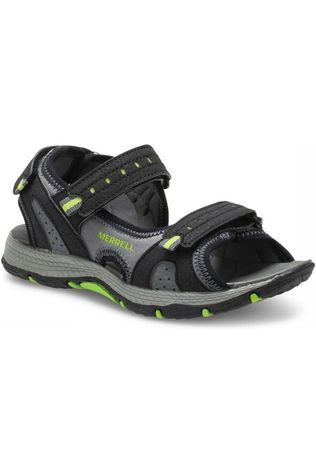 Merrell Sandal Panther 2.0 black/light green
