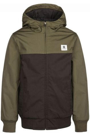 Element Manteau Dulcey Two Tones Boy Noir
