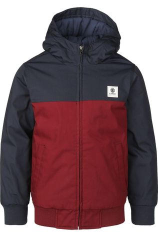 Element Manteau Dulcey Two Tones Boy Bordeaux / Marron