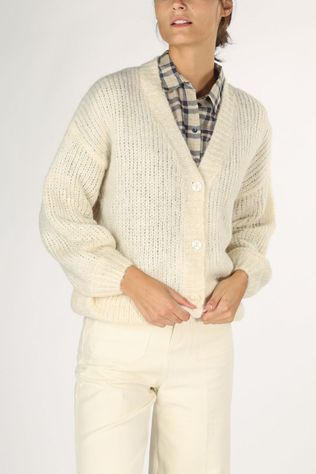 Grace&Mila Cardigan Bao off white