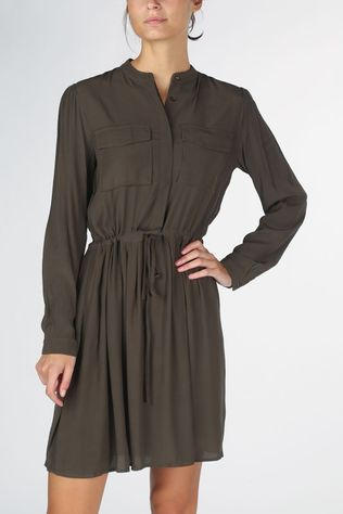Grace&Mila Dress Benedicte mid khaki