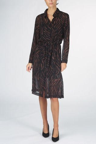 Grace&Mila Dress Bertha brown/black